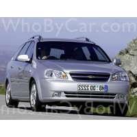Поколение Chevrolet Nubira 5 дв. универсал
