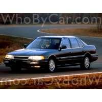 Поколение Acura Legend I седан