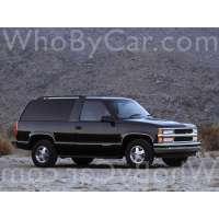 Поколение Chevrolet Tahoe I 3 дв. внедорожник