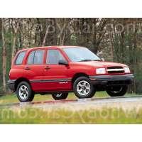 Поколение Chevrolet Tracker I 5 дв. внедорожник