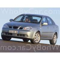 Поколение Daewoo Nubira III седан