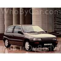 Поколение Daihatsu Charade III 3 дв. хэтчбек