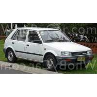 Поколение Daihatsu Charade II 5 дв. хэтчбек