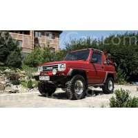 Поколение Daihatsu Rocky открытый внедорожник