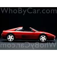 Поколение Ferrari 348 тарга
