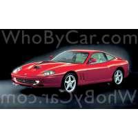 Поколение Ferrari 550 купе