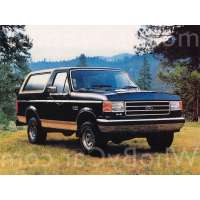 Поколение Ford Bronco IV