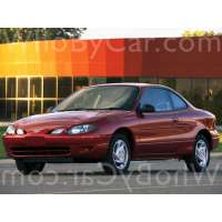 Поколение Ford Escort (North America) III купе