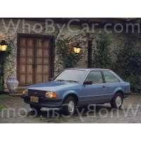 Поколение автомобиля Ford Escort III 3 дв. хэтчбек