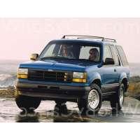 Поколение Ford Explorer I 3 дв. внедорожник