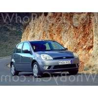 Поколение Ford Fiesta Mk5 5 дв. хэтчбек