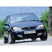 Поколение Ford Fiesta Mk4 5 дв. хэтчбек рестайлинг