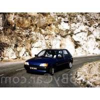 Поколение Ford Fiesta Mk3 5 дв. хэтчбек