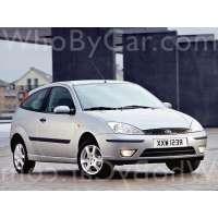 Поколение Ford Focus I 3 дв. хэтчбек рестайлинг