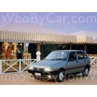Поколение Fiat UNO II 5 дв. хэтчбек