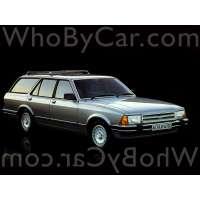 Поколение Ford Granada II 5 дв. универсал