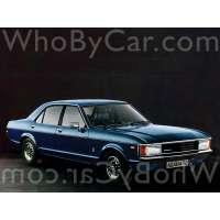 Поколение Ford Granada I седан