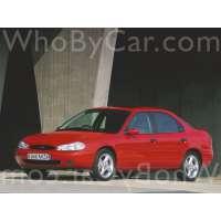 Поколение Ford Mondeo II 5 дв. хэтчбек