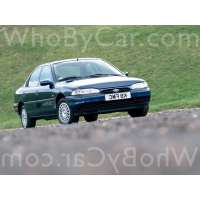 Поколение Ford Mondeo I седан
