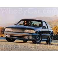 Поколение Ford Mustang III купе