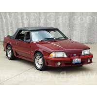 Поколение Ford Mustang III кабриолет
