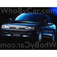 Поколение Ford Orion III