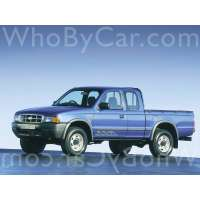 Поколение Ford Ranger I пикап с полуторной кабиной