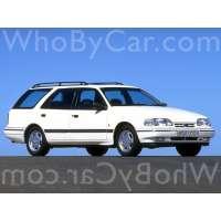 Поколение Ford Scorpio I 5 дв. универсал