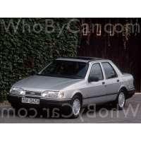 Поколение Ford Sierra I седан рестайлинг