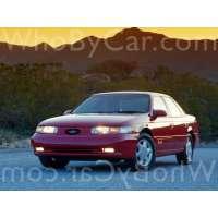 Поколение Ford Taurus II седан