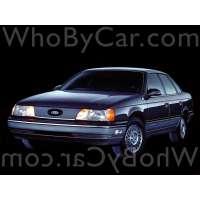 Поколение Ford Taurus I седан