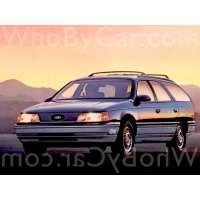 Поколение Ford Taurus I 5 дв. универсал