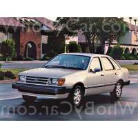 Поколение Ford Tempo седан