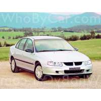 Поколение Holden Commodore III седан