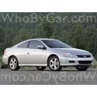 Поколение Honda Accord VII купе рестайлинг