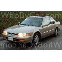 Поколение Honda Accord IV купе