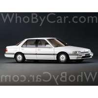Поколение Honda Accord III седан