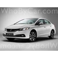 Поколение Honda Civic IX рестайлинг