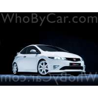 Поколение Honda Civic Type-R VIII 3 дв. хэтчбек рестайлинг