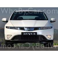 Поколение Honda Civic VIII 5 дв. хэтчбек рестайлинг