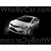 Поколение Honda Civic VIII седан