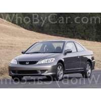 Поколение Honda Civic VII купе рестайлинг