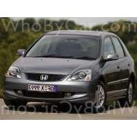 Поколение Honda Civic VII 5 дв. хэтчбек рестайлинг