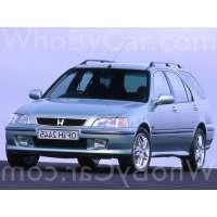 Поколение Honda Civic VI 5 дв. универсал