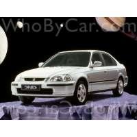 Поколение Honda Civic VI седан