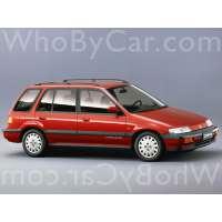 Поколение Honda Civic IV 5 дв. универсал