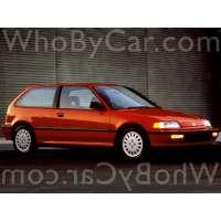 Поколение Honda Civic IV 3 дв. хэтчбек