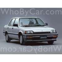 Поколение Honda Civic III седан