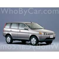 Поколение Honda HR-V 5 дв. внедорожник