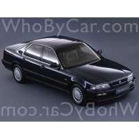 Поколение Honda Legend II седан